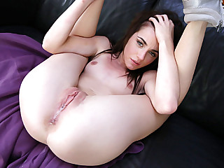 Girl with big tits dancing naked